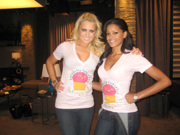 Natalie Gulbis and Claudia Jordan